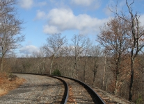 Ashmore yards and rails hike 093