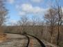 Ashmore yards and railroad tracks hike November 8 2015