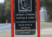 Tasmania Bruny cheese store and berry farm -1