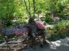 Dallas Texas Arboretum statues -10