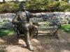 Dallas Texas Arboretum statues -7