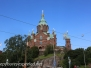 Helsinki  Finland Upenski or Russian  cathedral August 6 2015