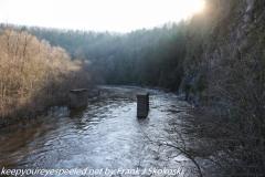 Lehigh River Glen Onoko hike December 27 2020