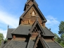 Oslo Norway folkemuseum stave  church  August 2 2015