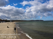 Gdansk beach and pier -23