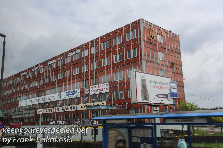 Poland Day six bus ride to Krakow -28