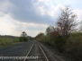 Railroad hike and backyard may 8 2015