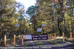 Rails to Trails hike October 19, 20 2019