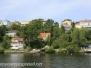 Stockholm Sweden Boat ride to Drottningholm palace August 4 2015