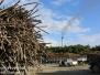 Sugar cane  processing plant, orange walk Belize February