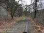 Weatherly railroad pipeline hike April 23 2016